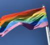 Coronavirus rainbow flag